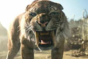 cat saber tooth tiger