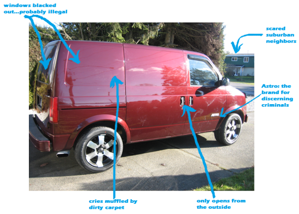 Clifford: The Big Red Kidnapping Van   BlogHer