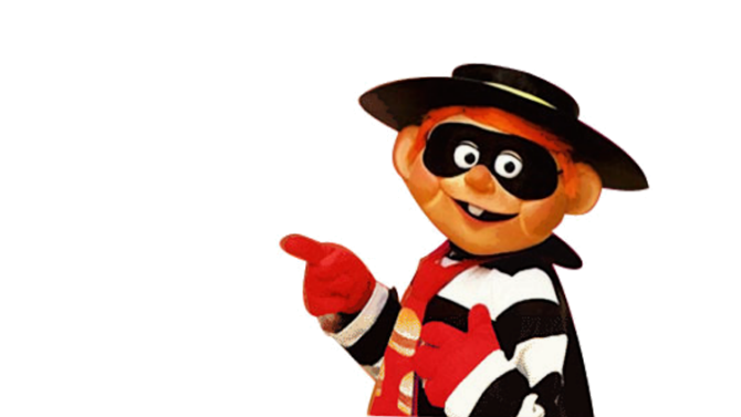 illegal hamburglar breaking and entering